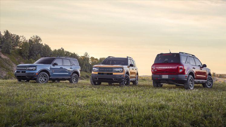 2021 Ford Bronco Sport trims