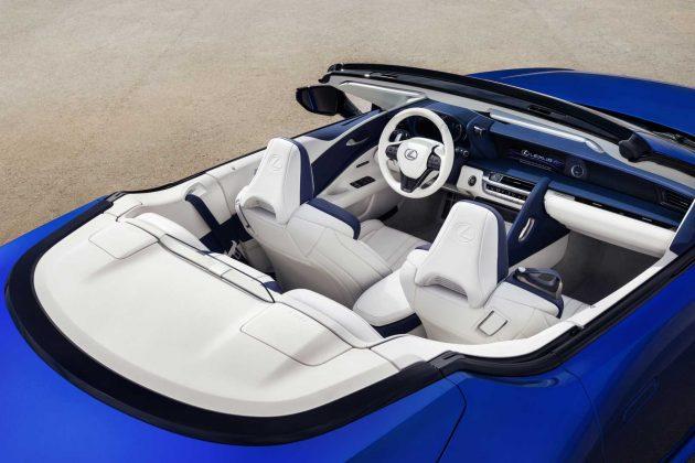 2021 Lexus LC Convertible Inspiraton Series