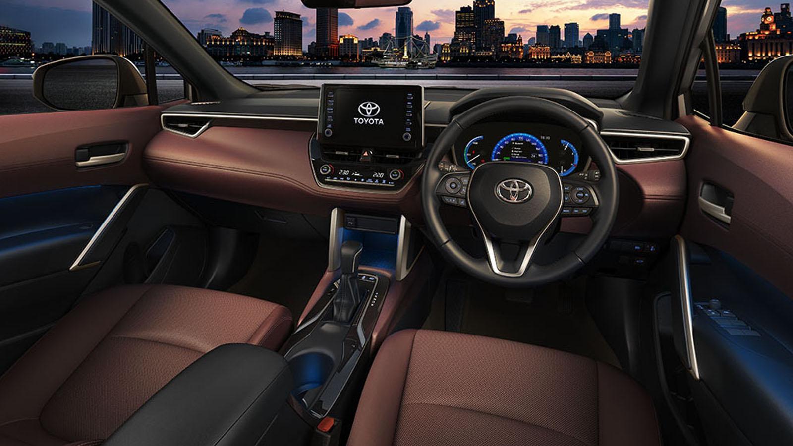 2021 Toyota Corolla Cross Interior