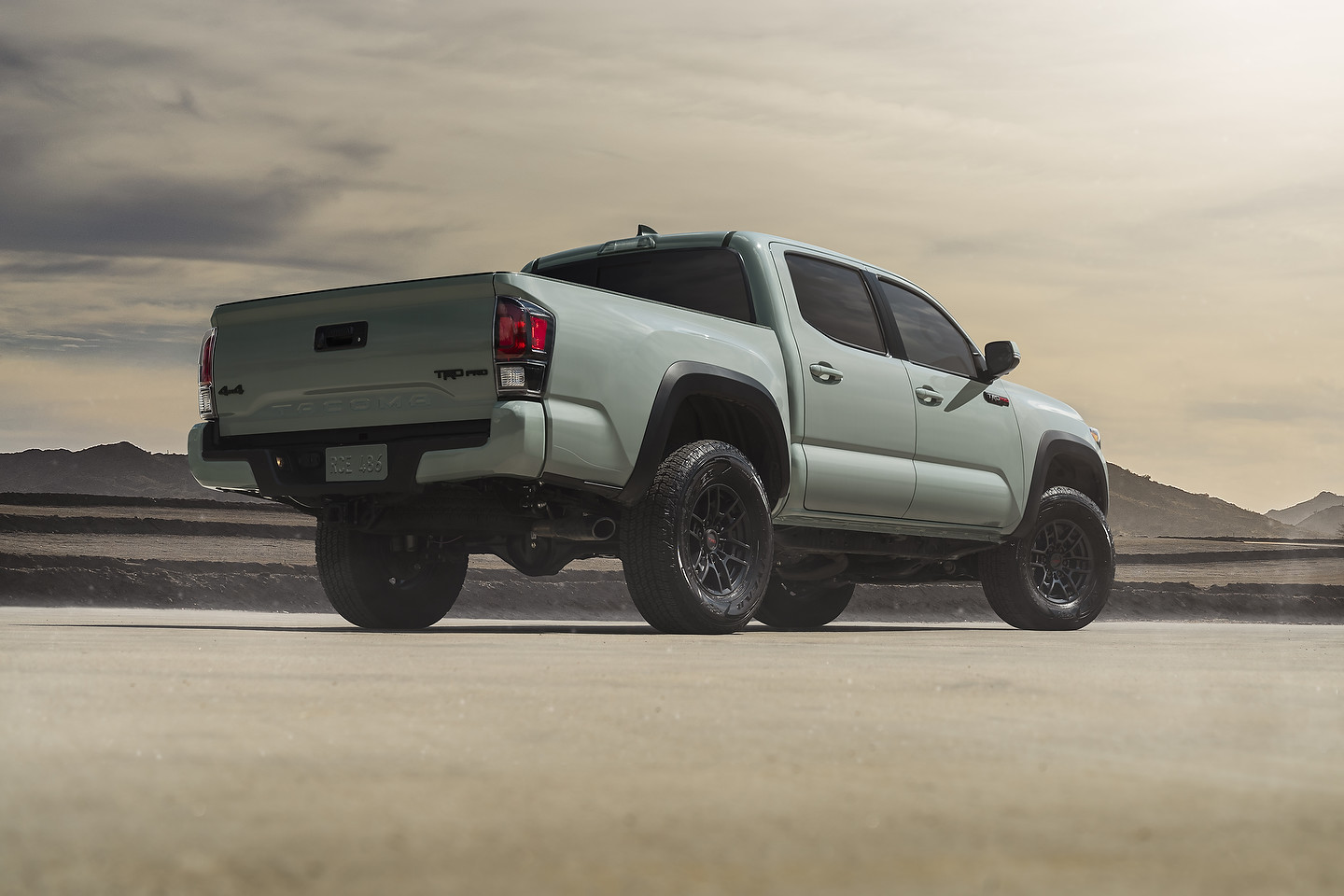 trd toyota tacoma 2021 pro lunar rock 4runner paint models cab spot takes rivals trims towing mpg capacity double features