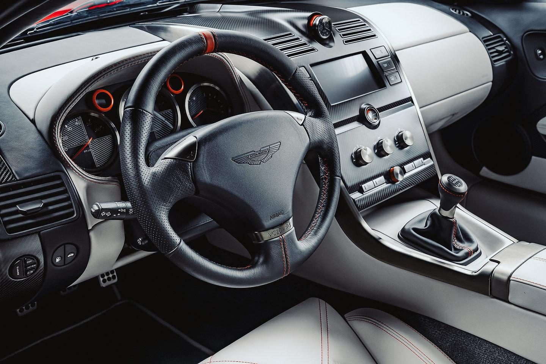 Aston Martin Vanquish 25 interior