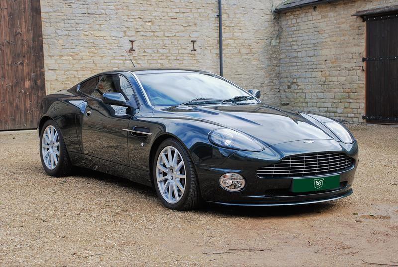 Original Aston Martin Vanquish