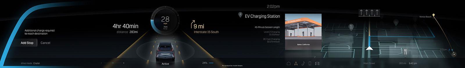 Cadillac Lyriq 33-inch screen