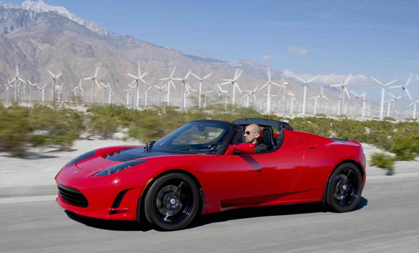 Tesla Roadster July 19, 2006