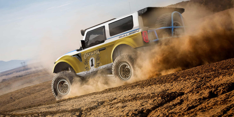 Saleen Ford Bronco Big Oly Rendering