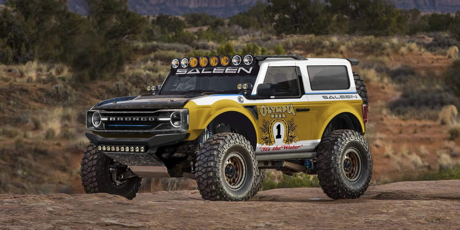 2021 Saleen Ford Bronco Inspired By Big Oly Rendering ...