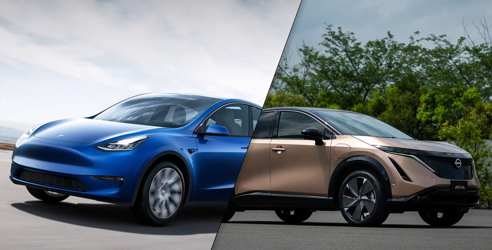 Tesla Model Y vs Nissan Ariya