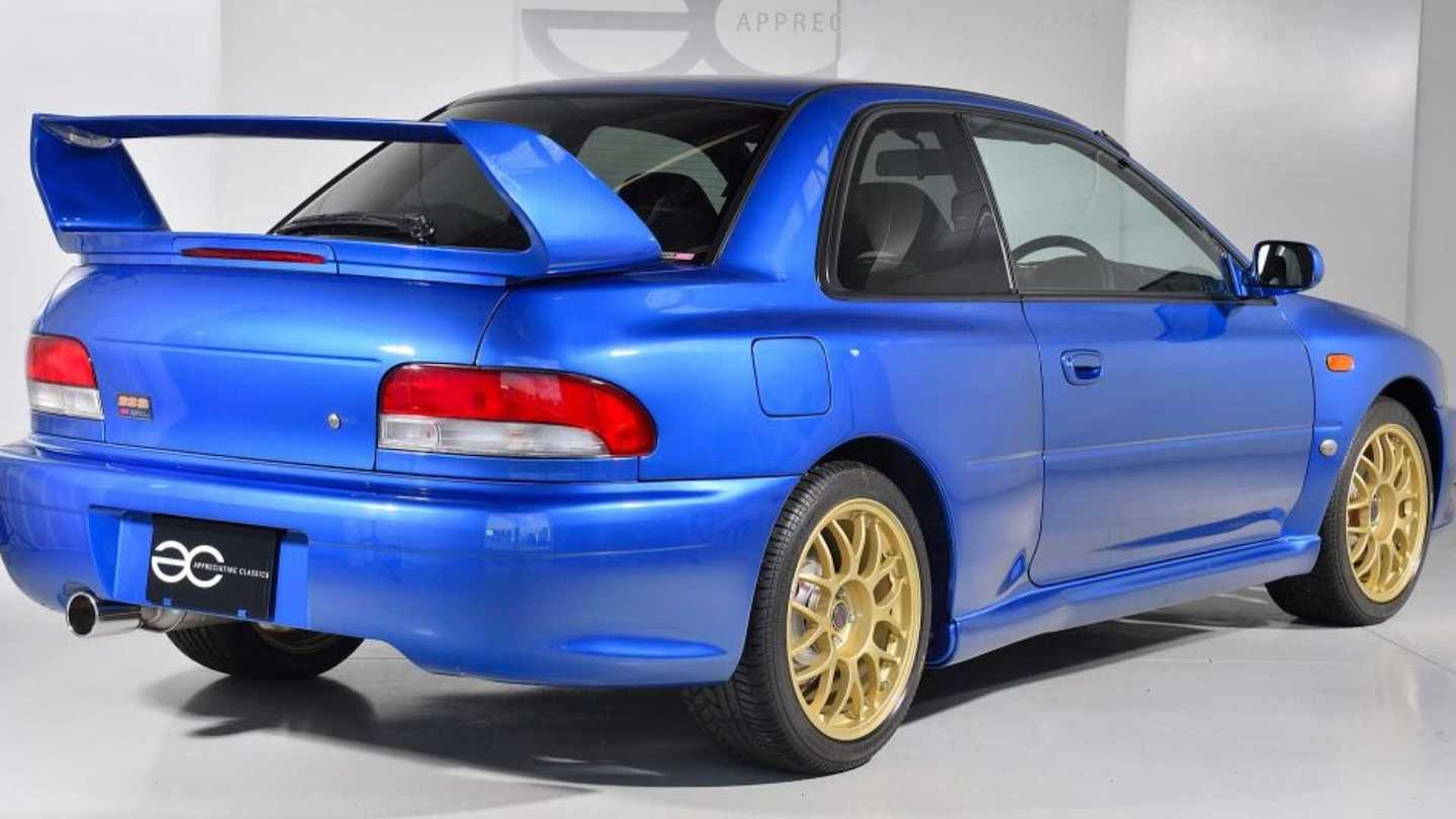 You Can Buy This 1998 Subaru Impreza 22b And Own A Piece