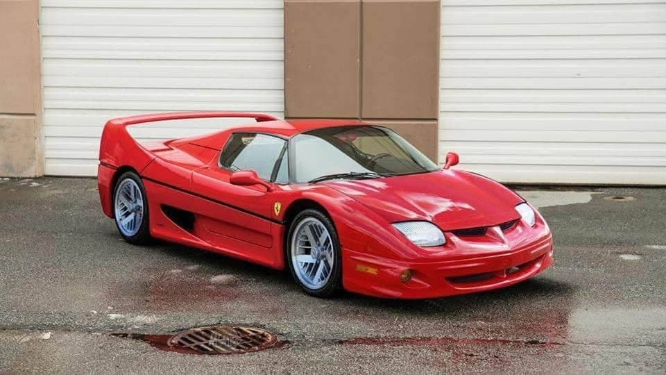 Ferrari F50 Pontiac Sunfire rendering