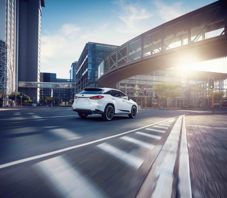 Lexus Introduces The 2021 RX Black Line Special Edition ...