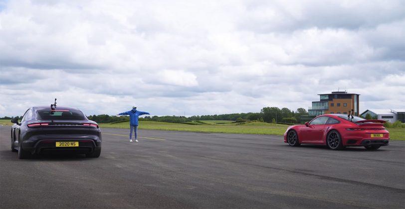 Porsche 911 Turbo S vs Porsche Taycan Turbo S