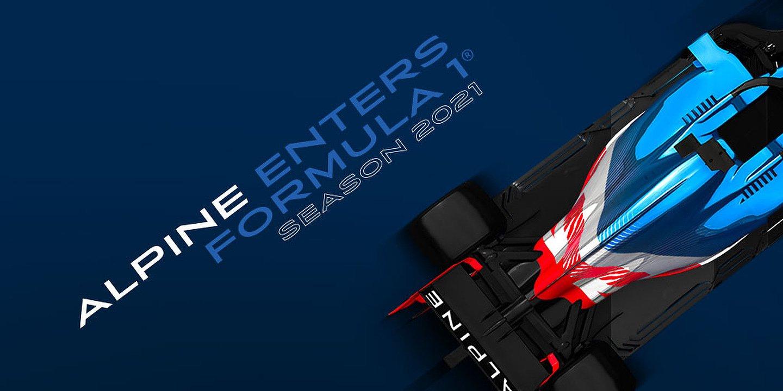 Alpine enters Formula 1 for the 2021 season