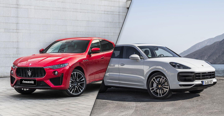 Maserati-Levante-vs-Porsche-Cayenne
