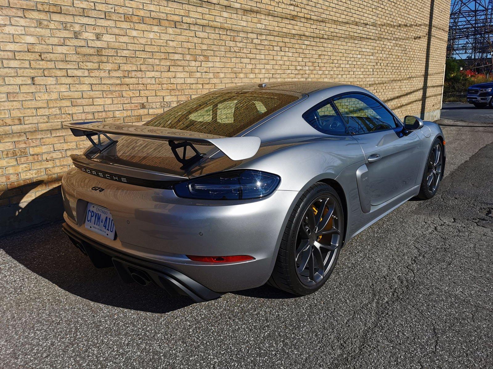 Porsche Cayman GT4 Review 4