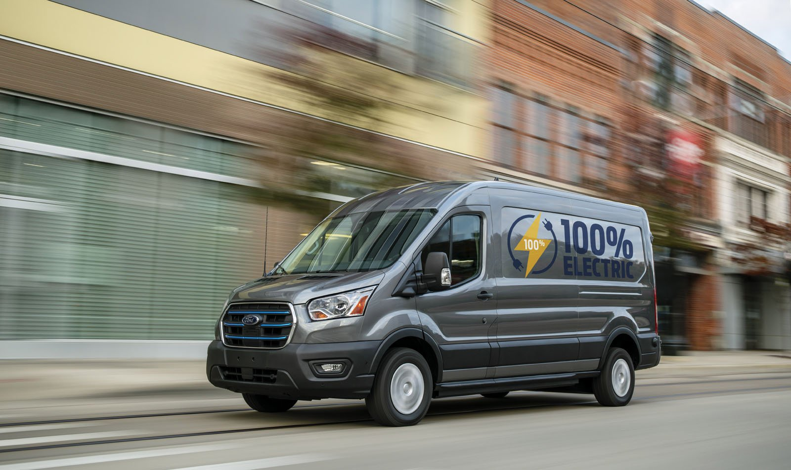 2022 Ford E-Transit electric van