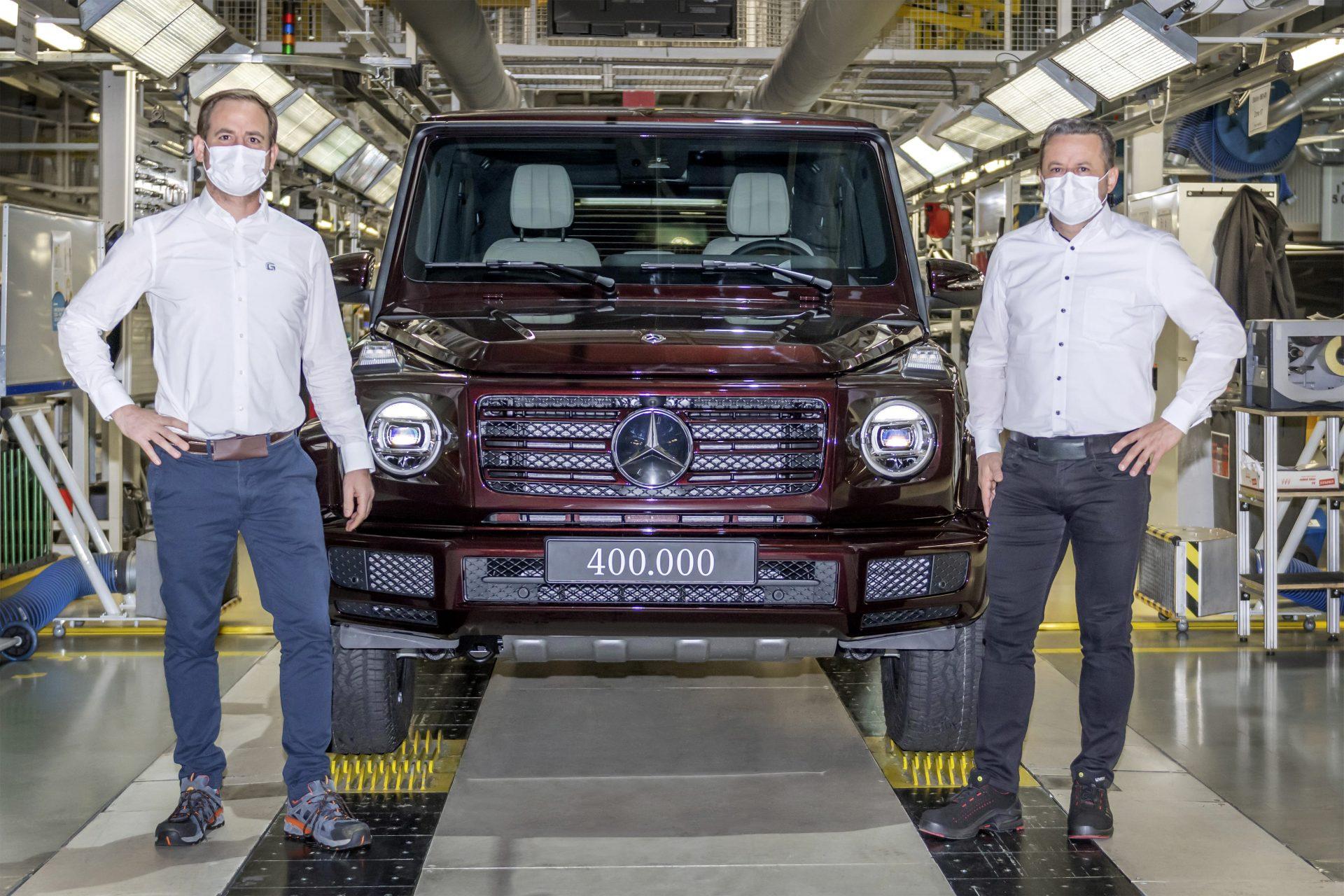 400,000th Mercedes G-Class