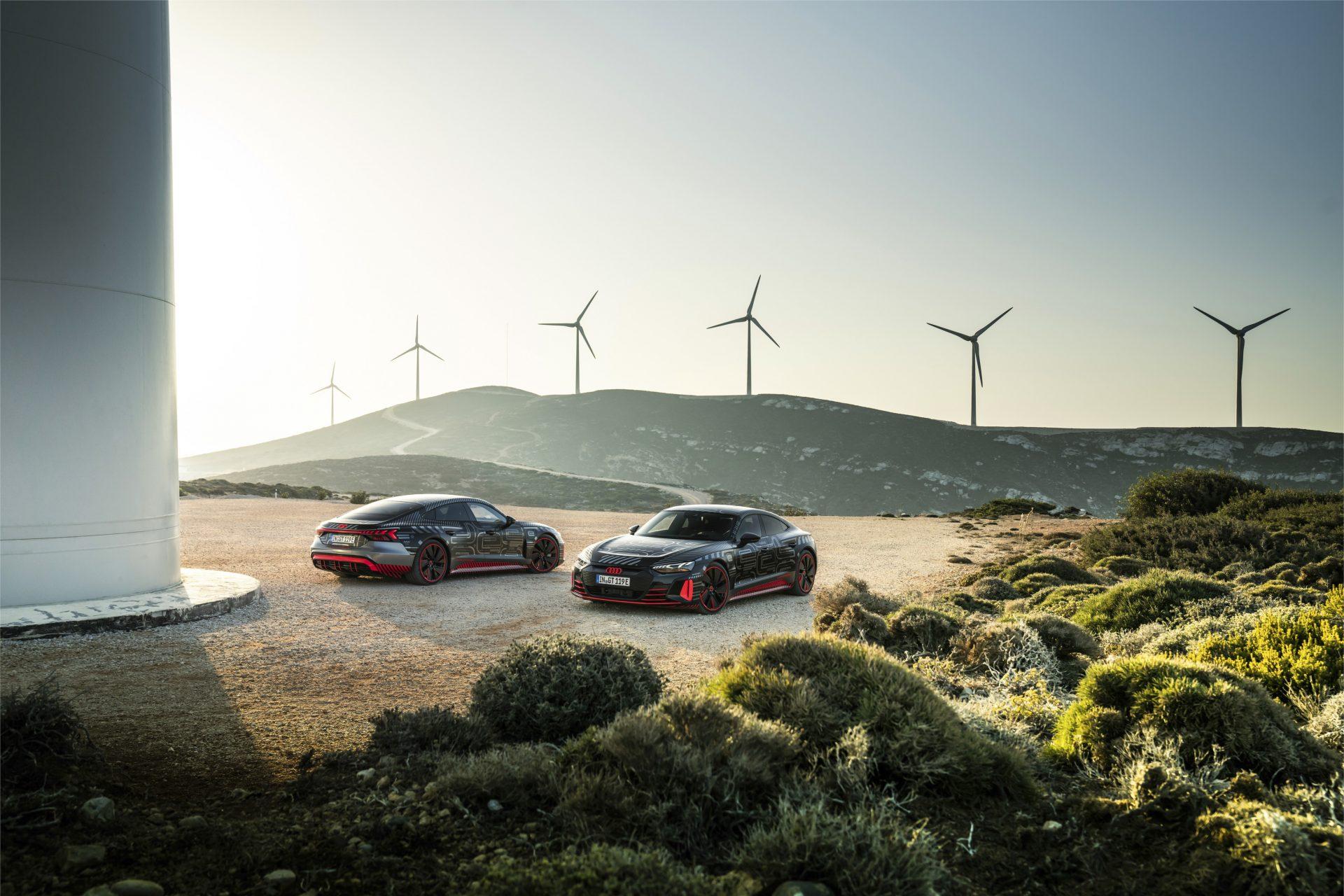 Audi e-tron GT production