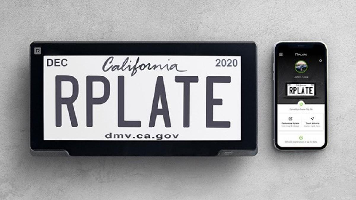 Reviver License plate