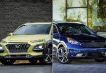 2019 Hyundai Kona vs. 2019 Kia Nero Quick Comparison Test