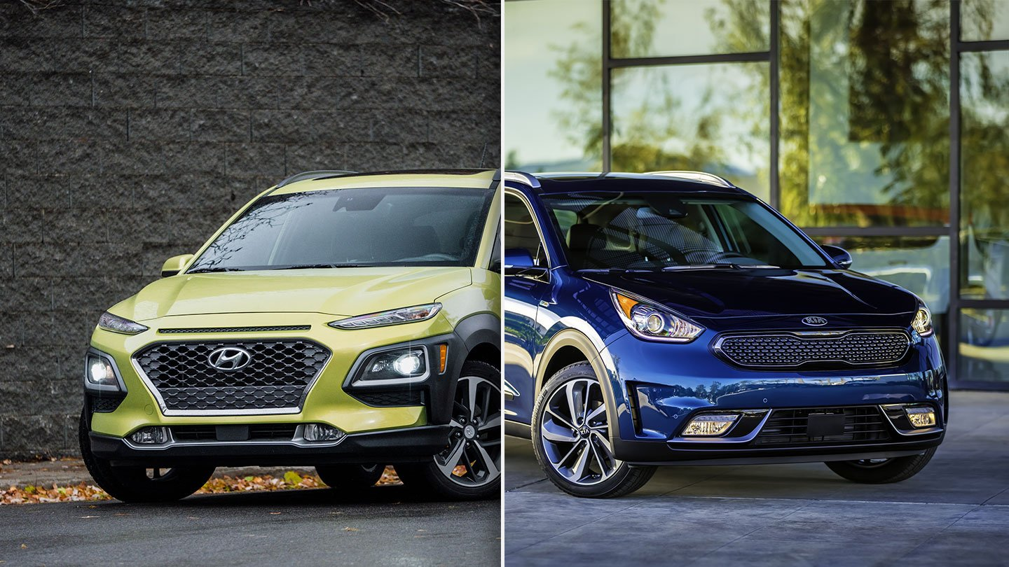 2019 Kia Niro Vs 2019 Hyundai Kona Quick Comparison