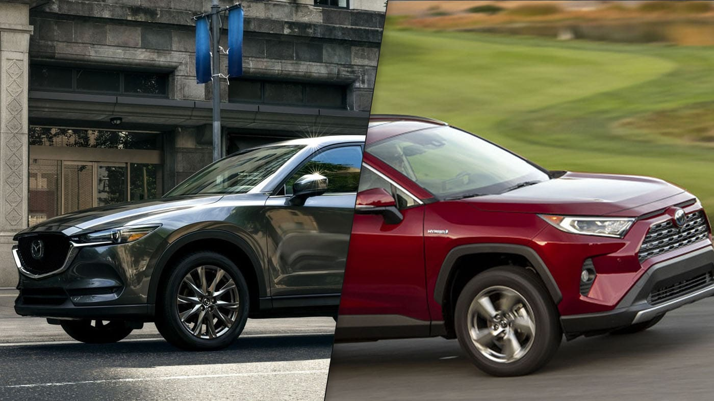 2019 Toyota RAV4 vs Mazda CX-5