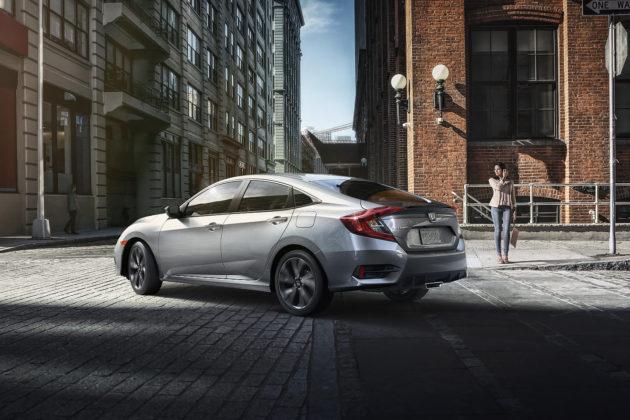 2019 Honda Civic sedan rear