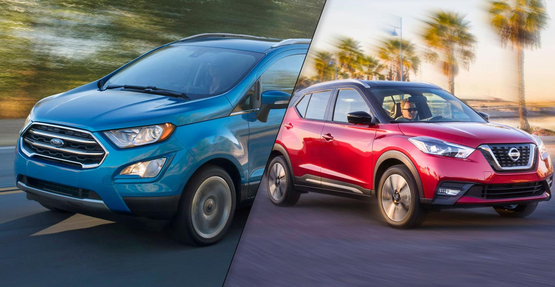 2019 Nissan Kicks 2019 Ford Ecosport
