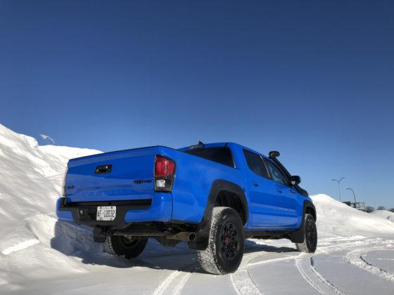 2019 Toyota Tacoma Rear