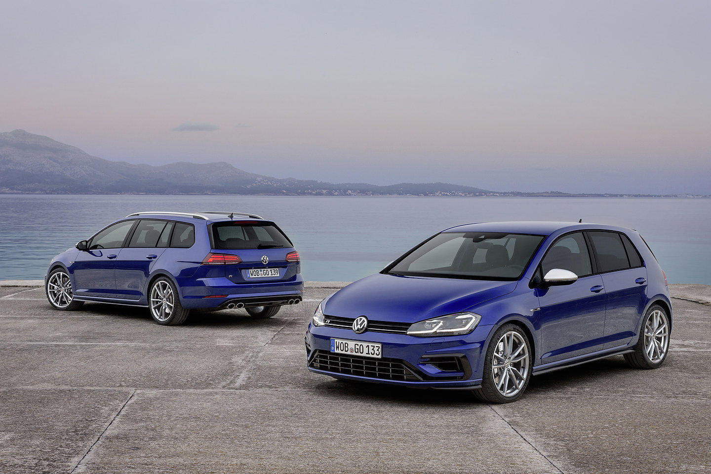 2019 Volkswagen Golf R and Golf R Variant