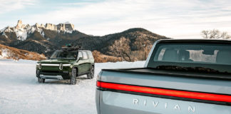 Rivian R1S and Rivian R1T