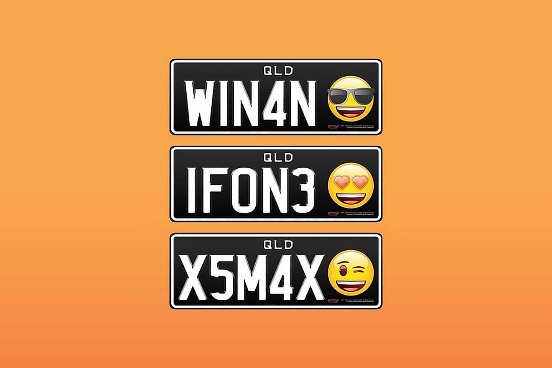 Emoji Number Plates Australia