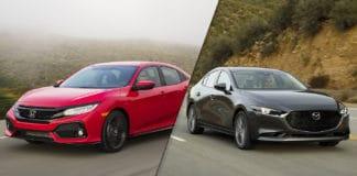 2019 Mazda3 vs 2019 Honda Civic