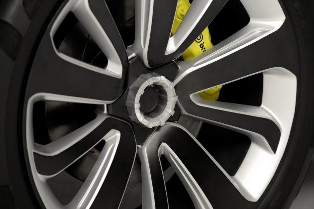 Hyundai Santa Cruz Crossover Truck Concept wheel