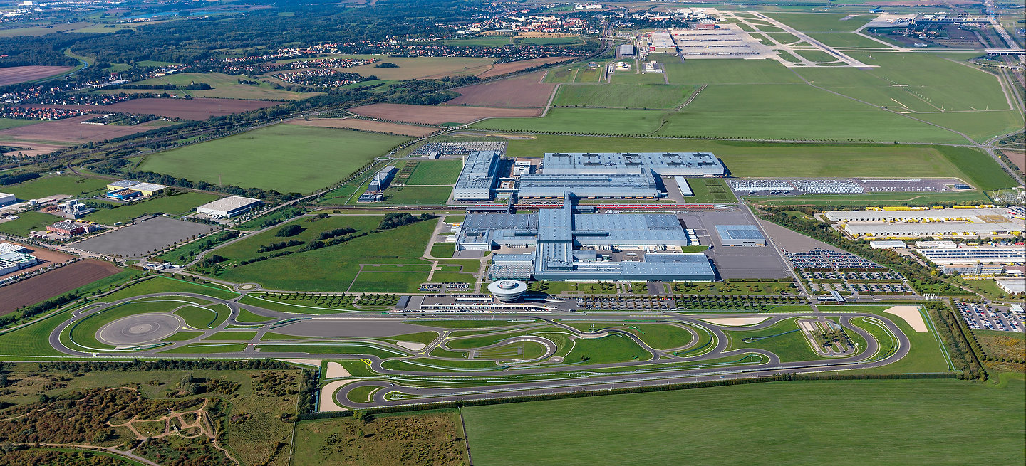 The Leipzig site is being transformed into an automobile plant for electromobility