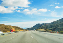 Traffic in Interstate 5, California