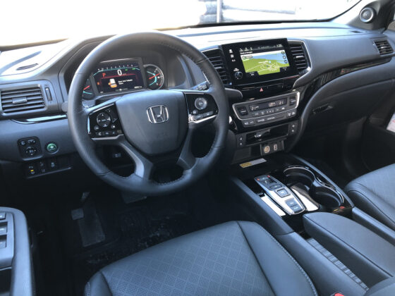 2019 Honda Passport First Drive Interior