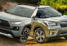 2019 Subaru Forester vs 2019 Toyota RAV4