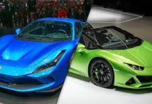 2020 Ferrari F8 Tributo-vs 2020 Lamborghini Huracan EVO