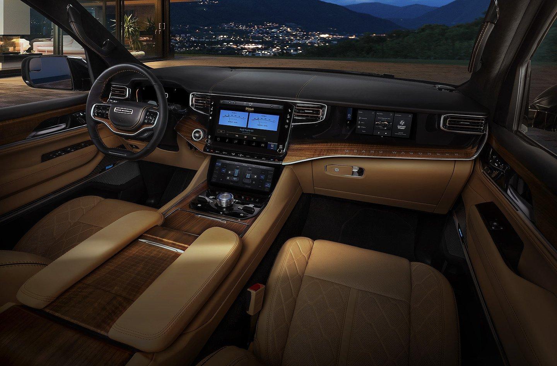 2022 Grand Wagoneer interior