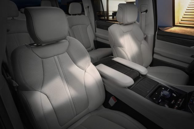 Wagoneer interior