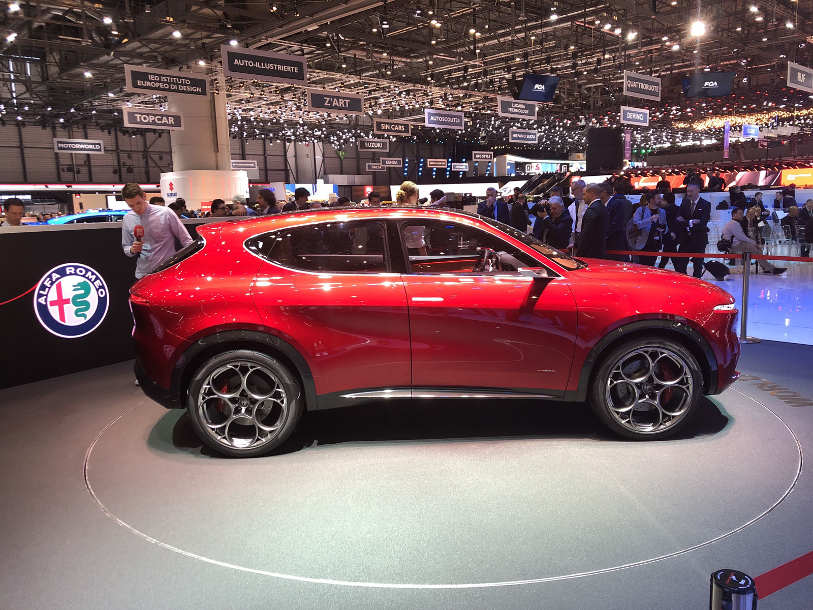 Alfa Romeo Tonale Concept Electrifies The Geneva