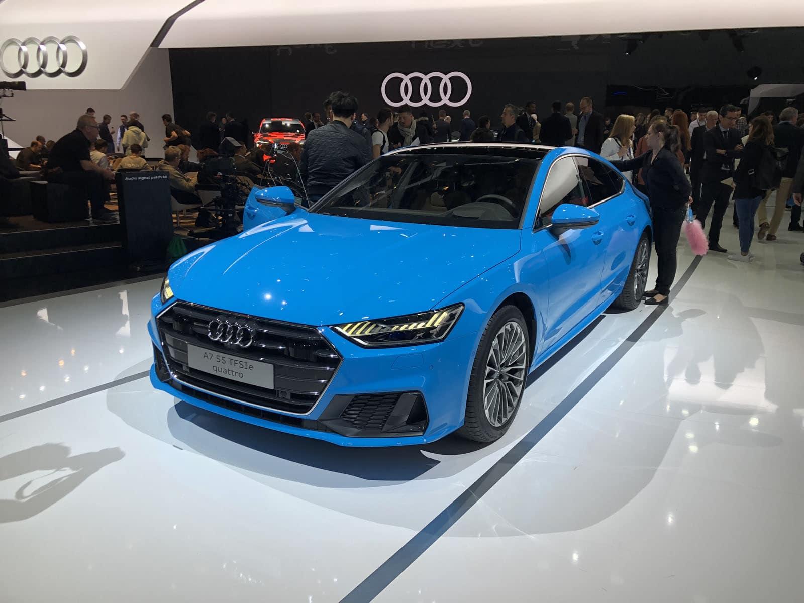 Audi PHEV Models Geneva Motor Show