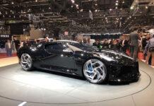 Bugatti La Voiture Noire Geneva Motor Show