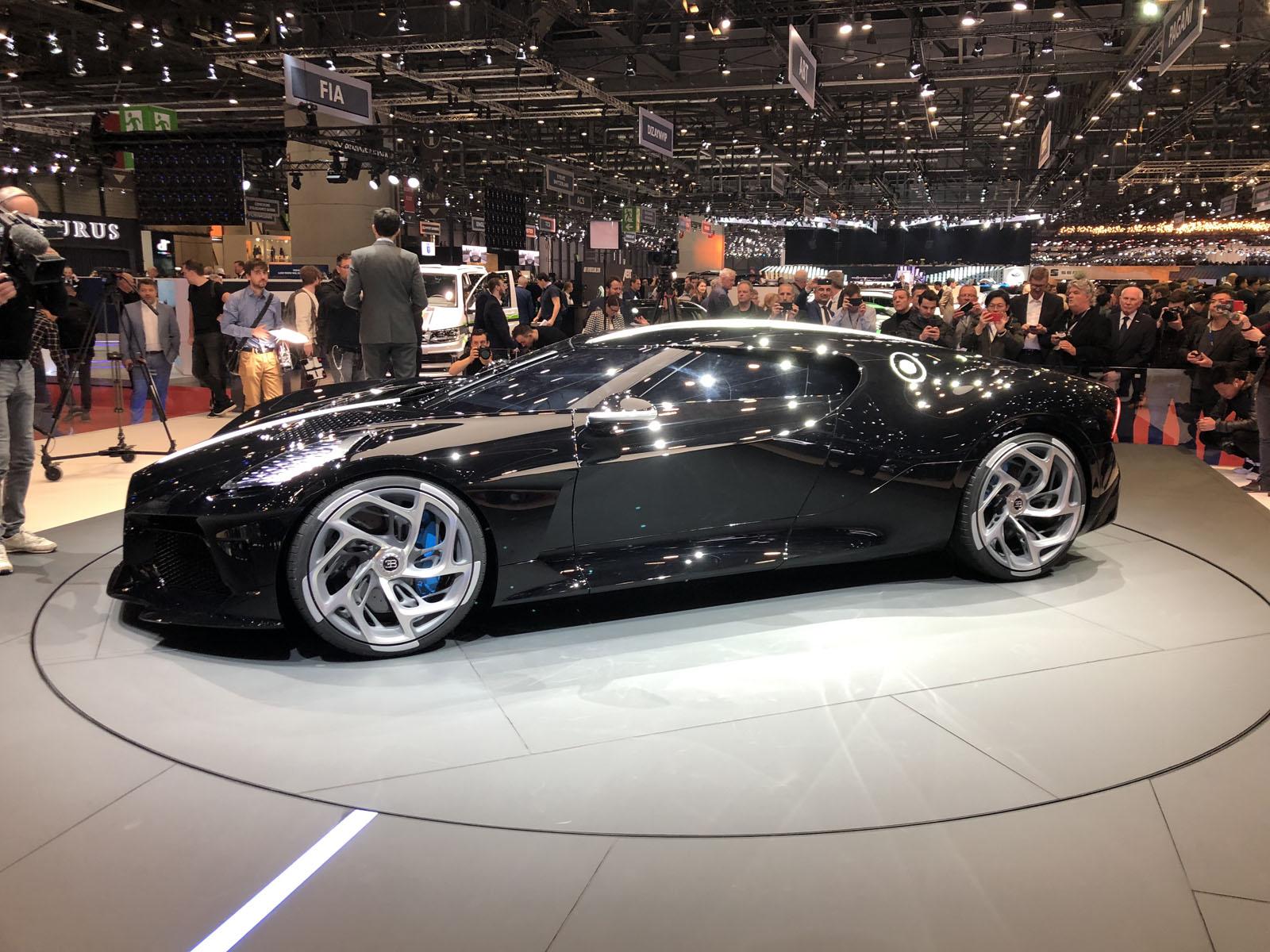 Bugatti La Voiture Noire Geneva Motor Show 14
