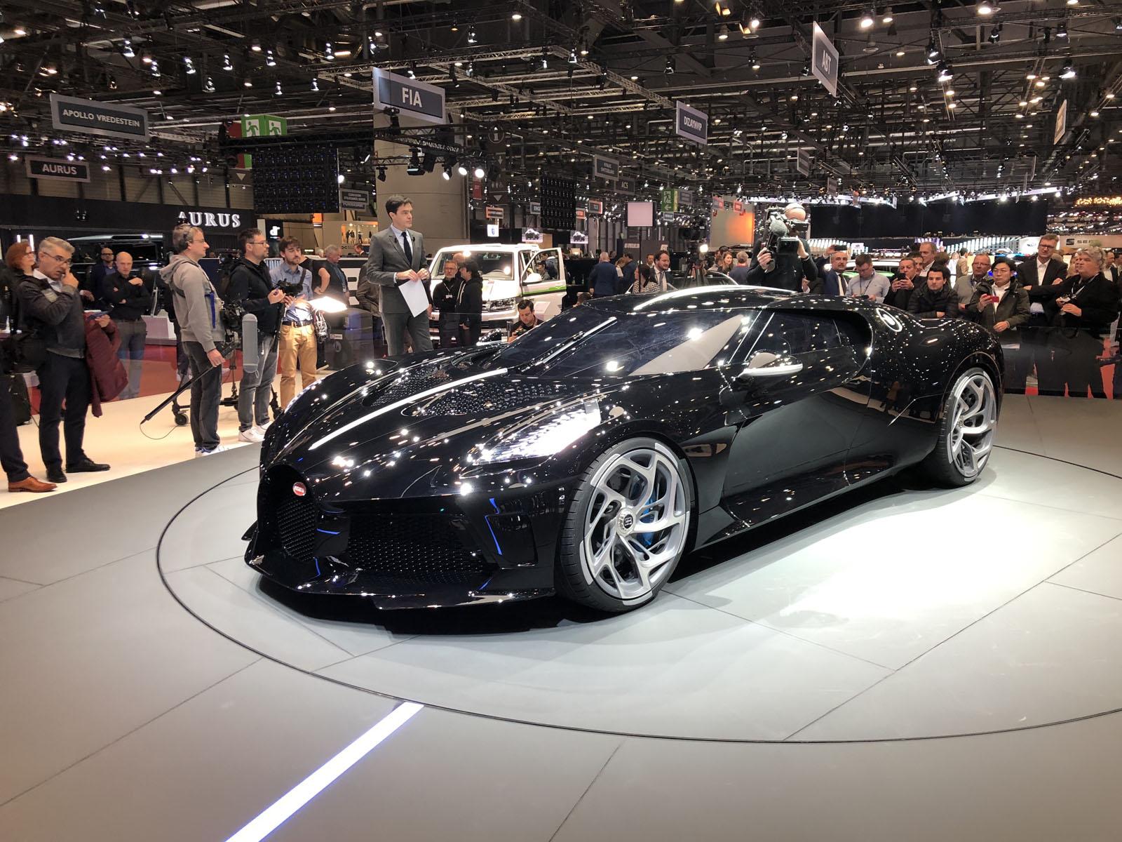 bugatti la voiture noire geneva pictures gallery and quick info