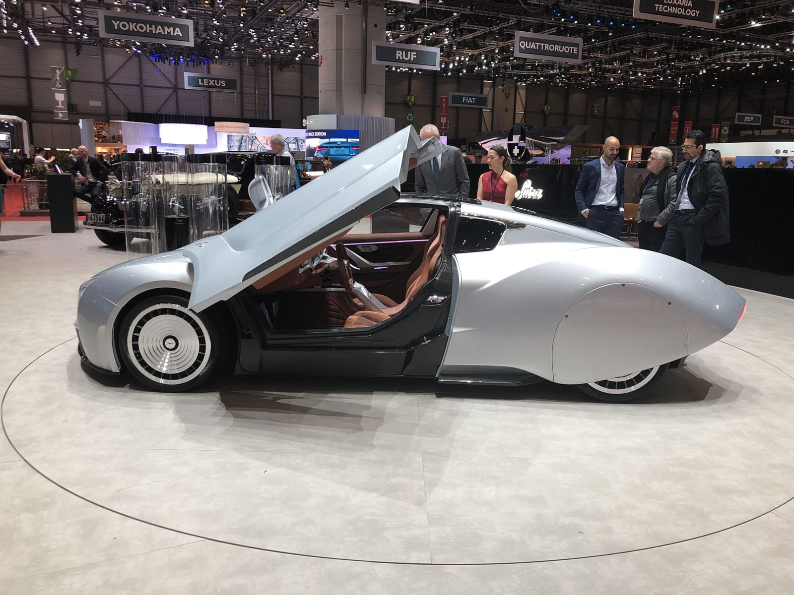 Hispano Suiza Geneva Motor Show