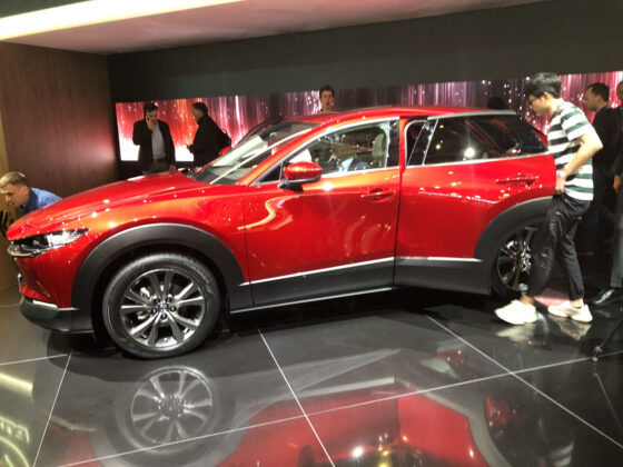 new 2020 mazda cx30 revealed at the geneva motor show