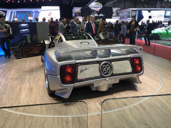 Pagani Zonda 20th Anniversary Geneva Motor Show