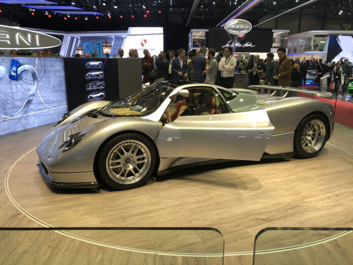 94f091799 Restored First-Ever Pagani Zonda Pays Tribute to the Brand's 20th ...