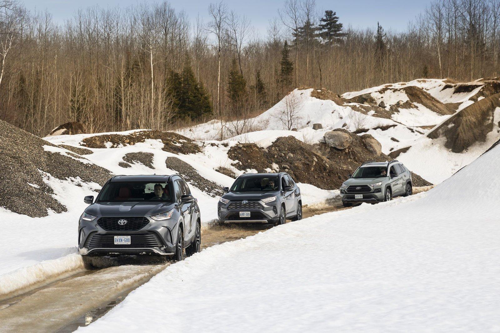 Toyota hybrids